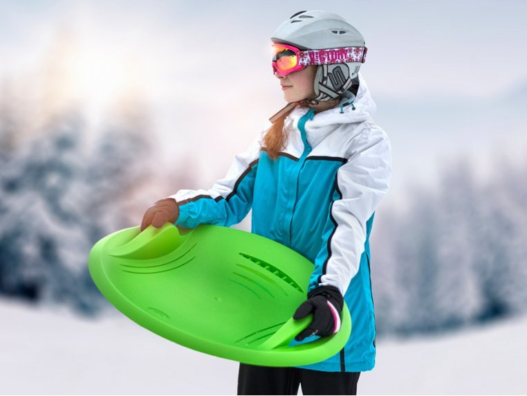 Snow Disc with Integrated Brake by Gizmo Riders - 3