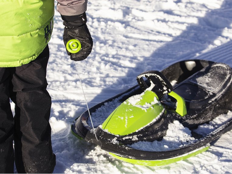 Steerable Sledge with Brake by Gizmo Riders - 2