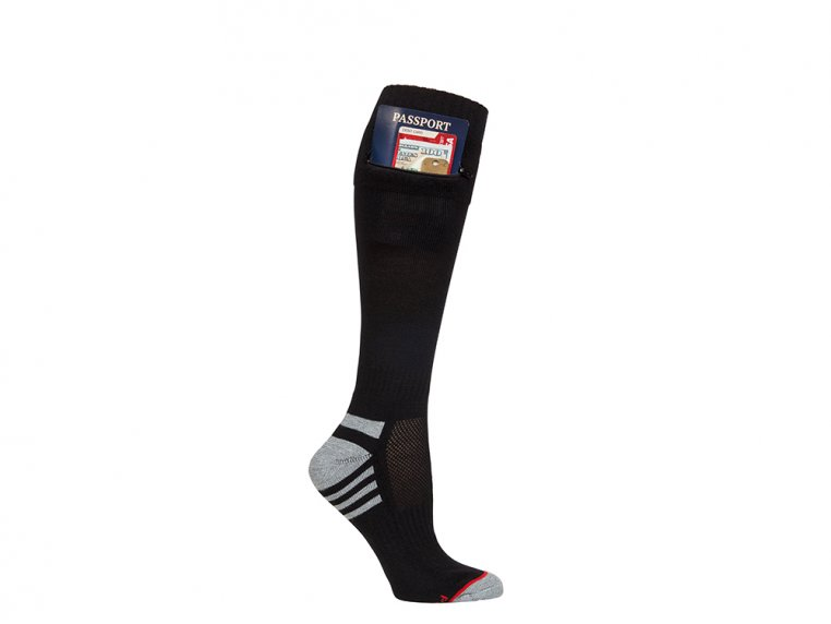 Women's Passport Pocket Socks by Pocket Socks® - 2