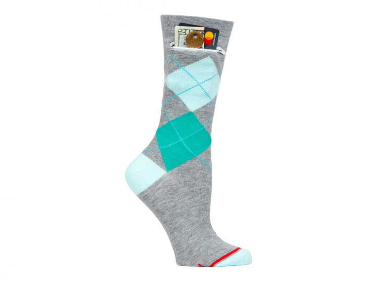 Women's Crew Pocket Socks by Pocket Socks® - 2