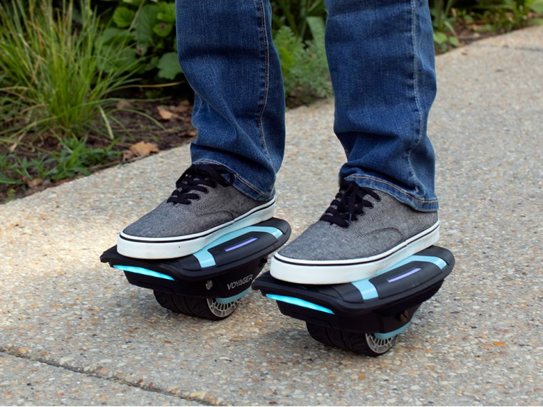 Self-Balancing Hover Shoes by Voyager - 1