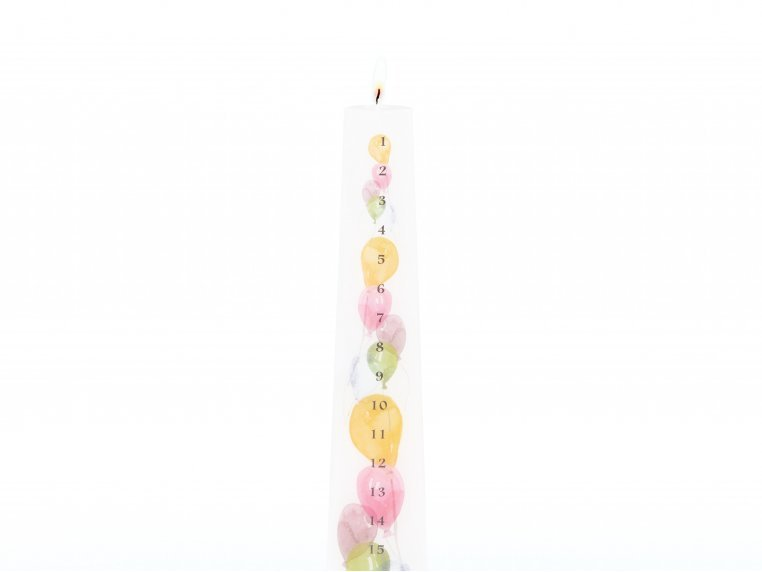 Grow & Glow Birthday Tradition Candle by Über Mom - 3