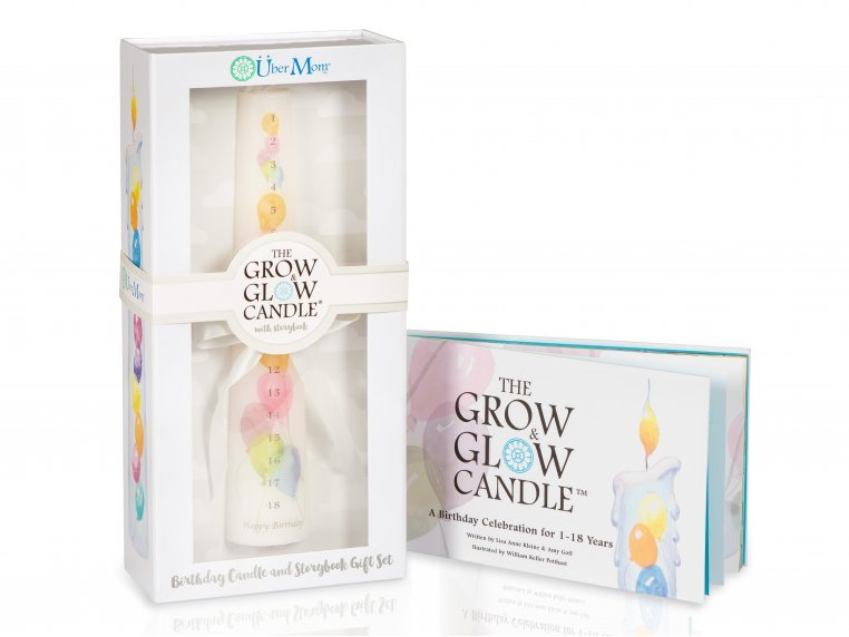 Grow & Glow Birthday Tradition Candle by Über Mom - 4