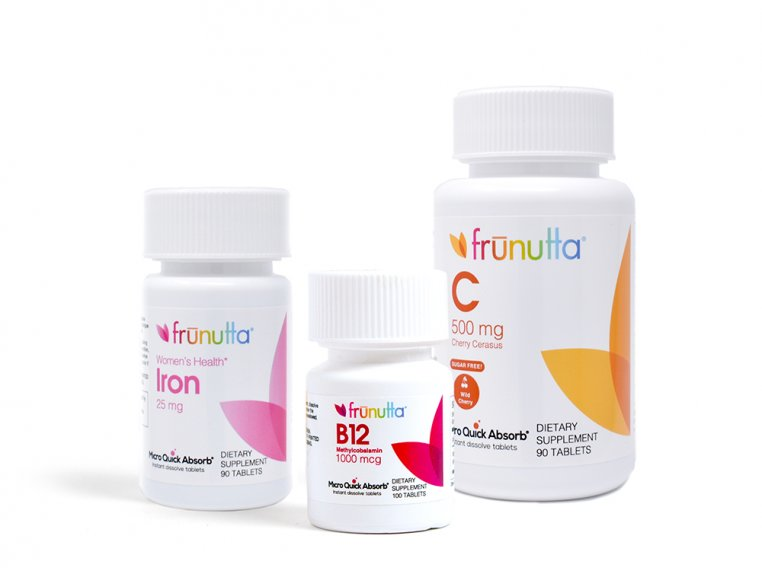 Instant Dissolve Sublingual Vitamins by Frunutta - 3