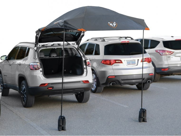 SUV Tailgating Canopy Tent by Rightline Gear - 1