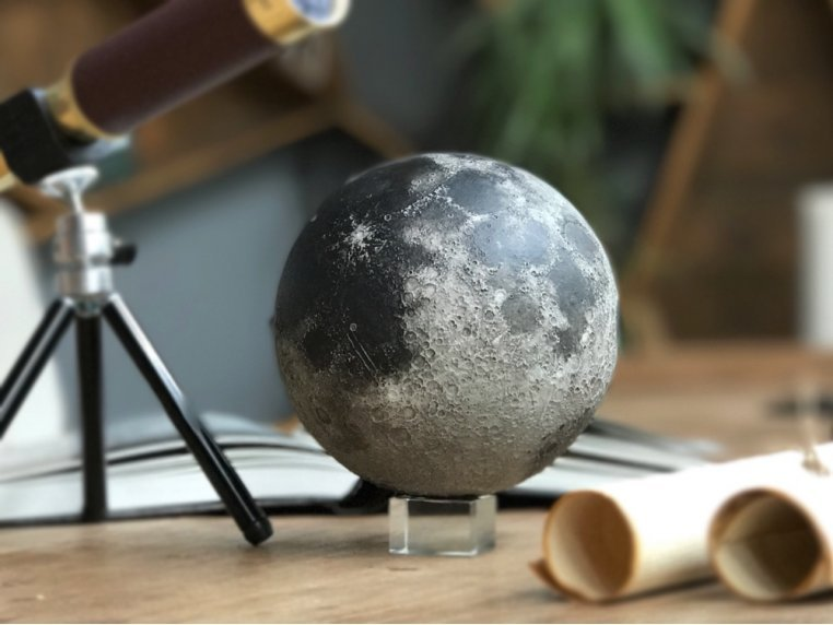 Augmented Reality Moon Sculpture by AstroReality - 1