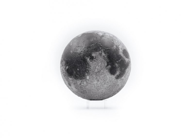 Augmented Reality Moon Sculpture by AstroReality - 6