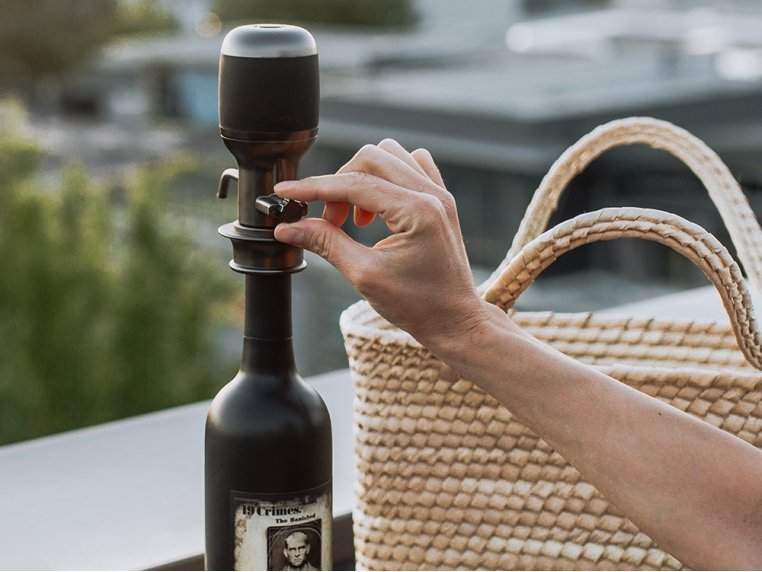 One-Touch Electric Wine Aerator by Aervana - 1