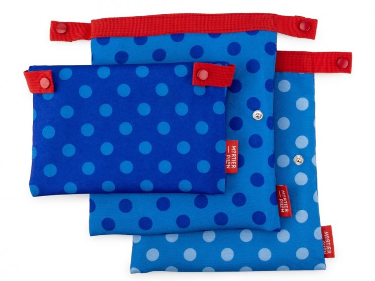 Reusable Lunch Snack Bags - Set of 3 by Mortier Pilon - 3