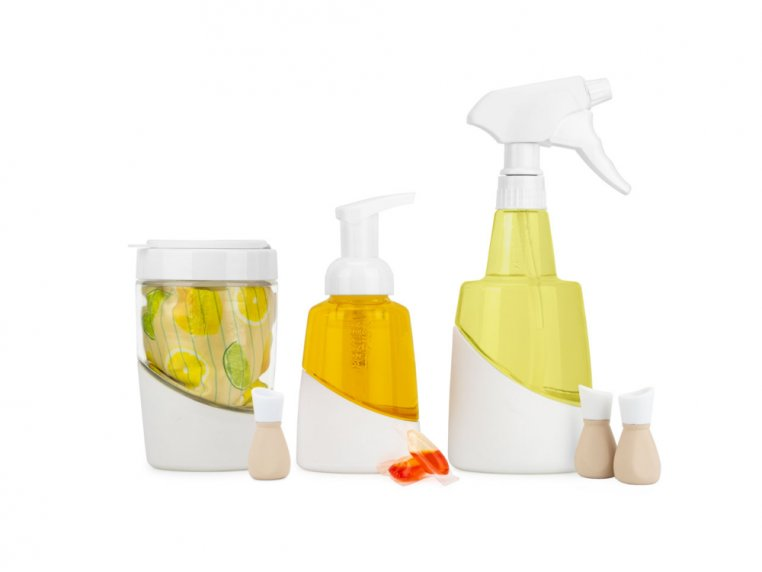 Eco-friendly Cleaning Set & Bottles by Mortier Pilon - 2