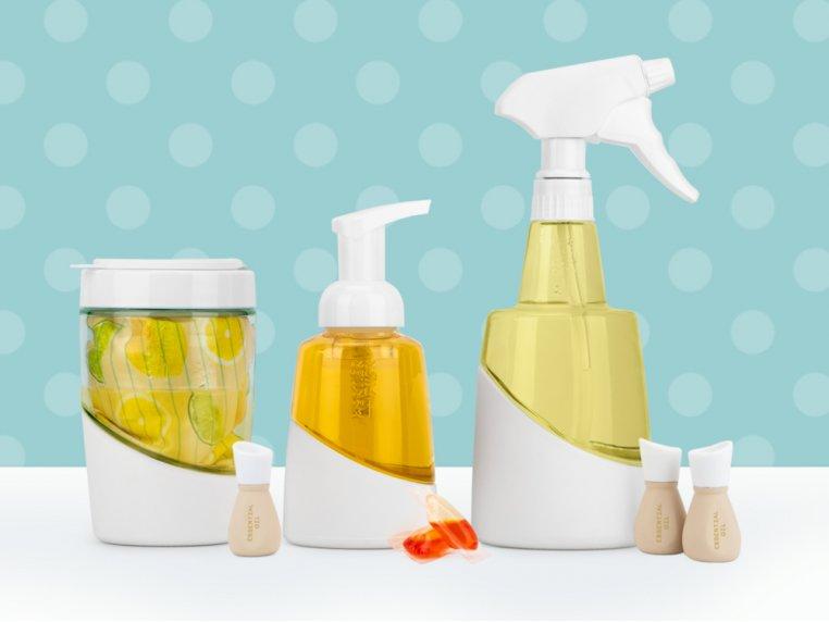 Eco-friendly Cleaning Set & Bottles by Mortier Pilon - 1