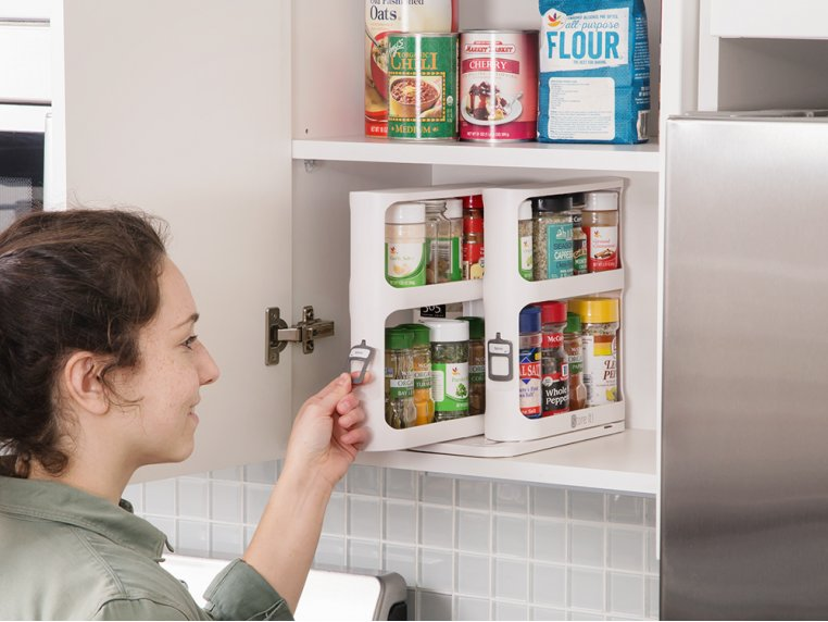 Instant Access Cabinet Organizer by Cabinet Caddy - 2