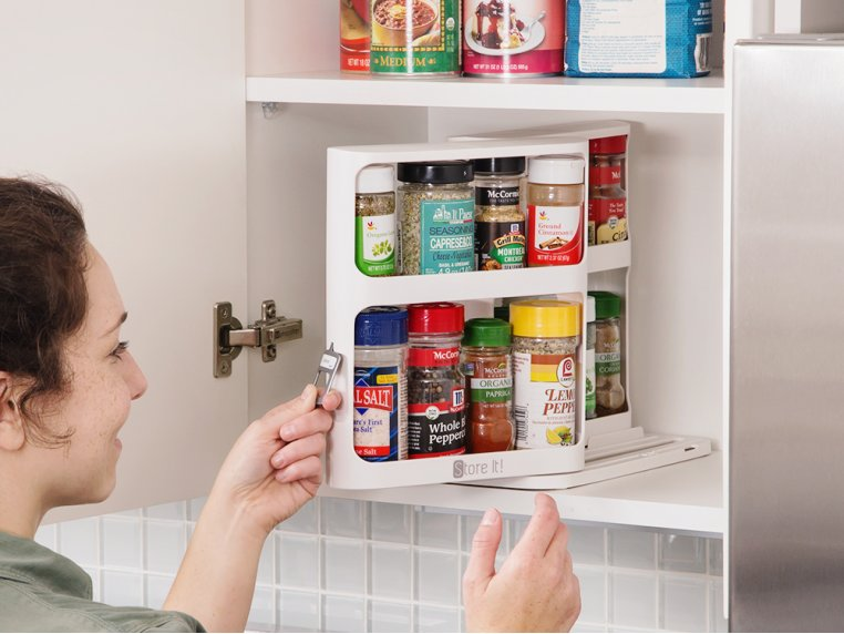 Instant Access Cabinet Organizer by Cabinet Caddy - 1