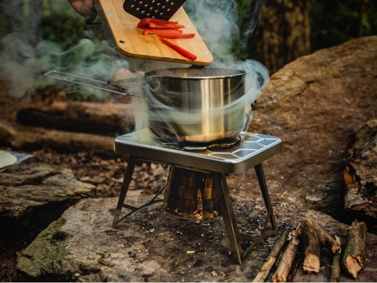 Compact Multi-Fuel Backpacking Stove by nCamp - 3