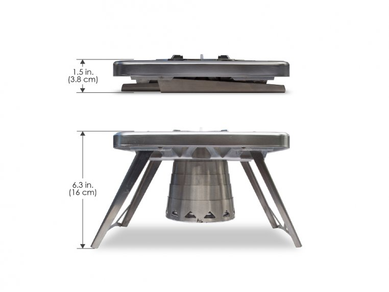 Compact Multi-Fuel Backpacking Stove by nCamp - 4