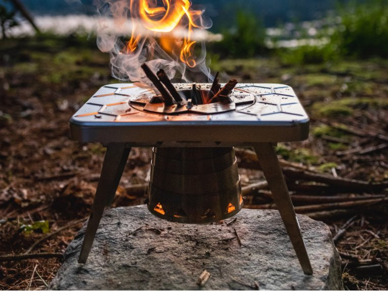 Compact Multi-Fuel Backpacking Stove by nCamp - 1