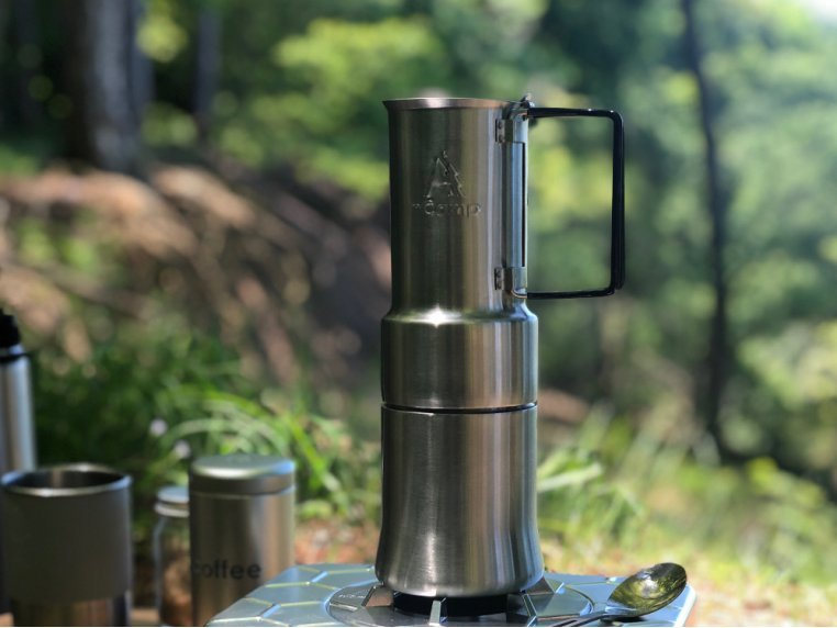 Espresso-Style Camping Coffee Maker by nCamp - 2