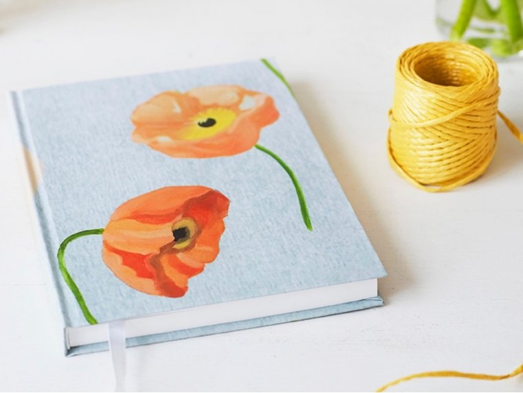 Floral Hardcover Journal by India & Purry by Jessica Hollander - 3