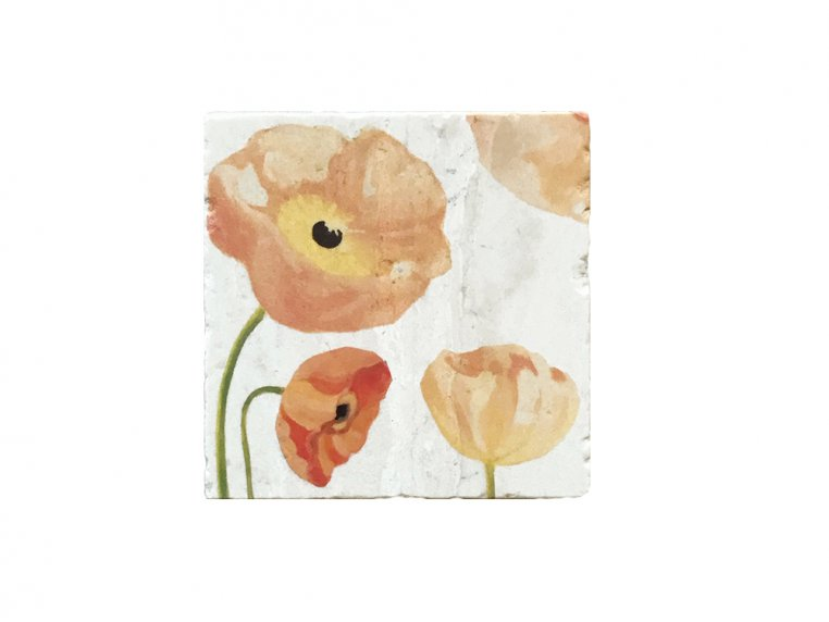 Floral Marble Trivet by India & Purry by Jessica Hollander - 3