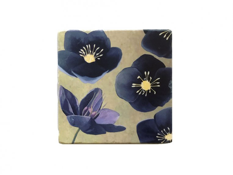 Floral Marble Trivet by India & Purry by Jessica Hollander - 4