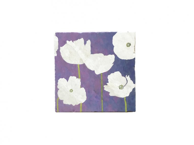 Floral Marble Trivet by India & Purry by Jessica Hollander - 5