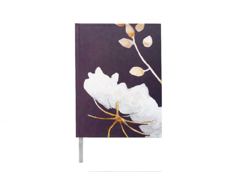 Floral Hardcover Journal by India & Purry by Jessica Hollander - 4