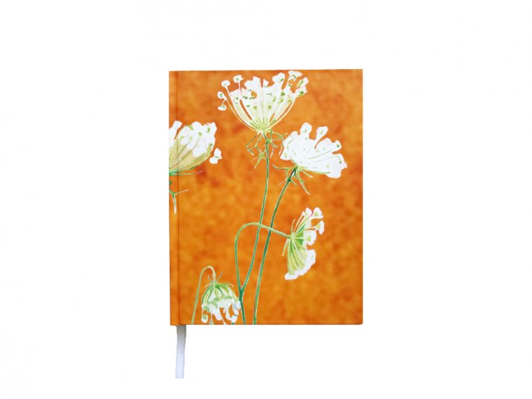 Floral Hardcover Journal by India & Purry by Jessica Hollander - 5