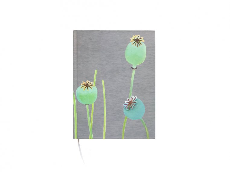 Floral Hardcover Journal by India & Purry by Jessica Hollander - 8