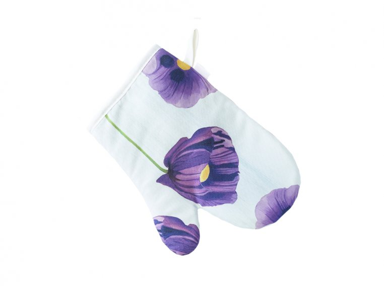 Floral Cotton Oven Mitt by India & Purry by Jessica Hollander - 7