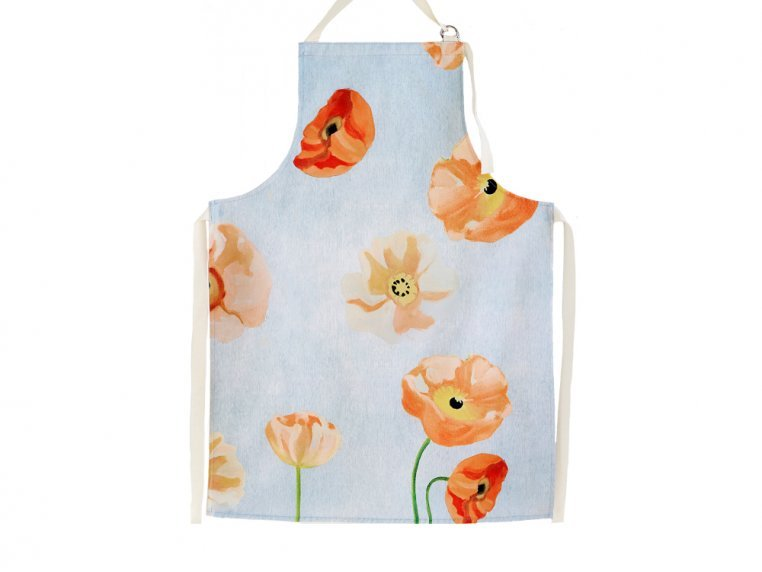 Floral Cotton Apron by India & Purry by Jessica Hollander - 3