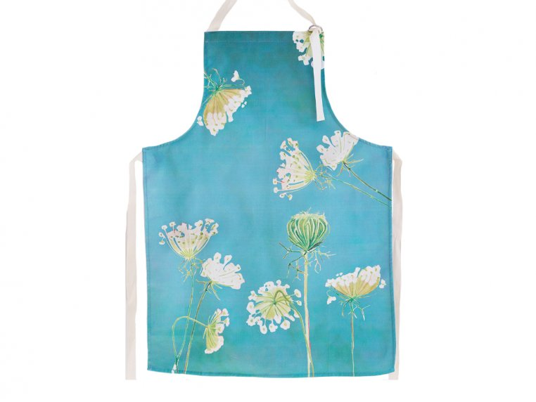 Floral Cotton Apron by India & Purry by Jessica Hollander - 4