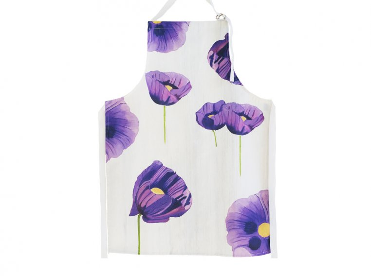 Floral Cotton Apron by India & Purry by Jessica Hollander - 5