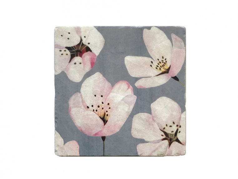 Floral Marble Trivet by India & Purry by Jessica Hollander - 7