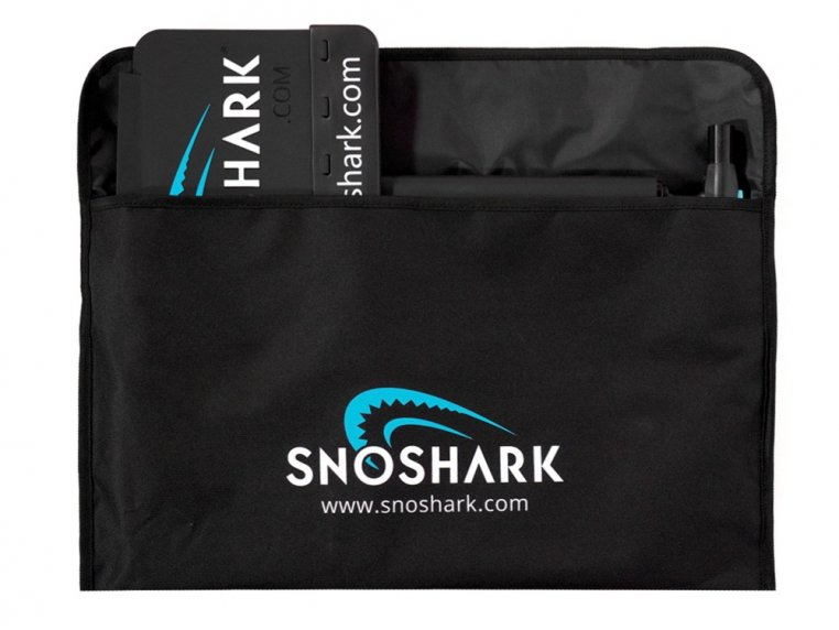 Collapsible Paddle Snow Removal Tool by SnoShark® - 5