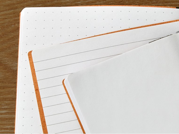 Refillable Leather Notebook Refill by Endeavor Writing Co. - 2