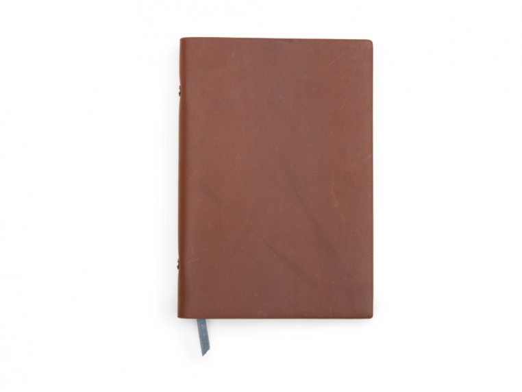 Refillable Leather Notebook by Endeavor Writing Co. - 4