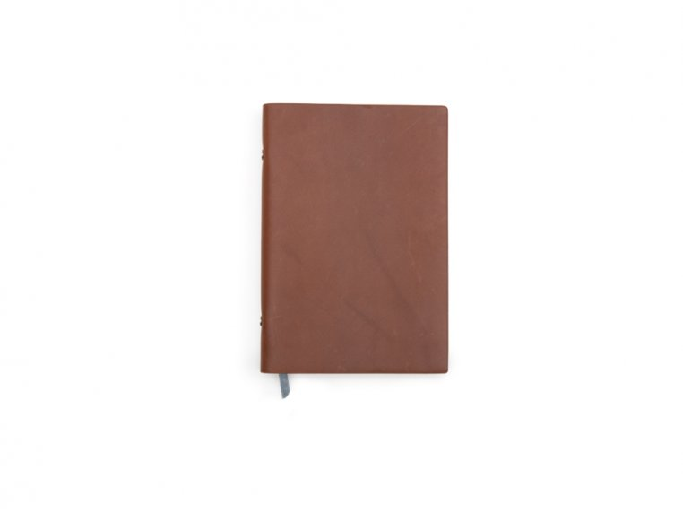 Refillable Leather Notebook by Endeavor Writing Co. - 7