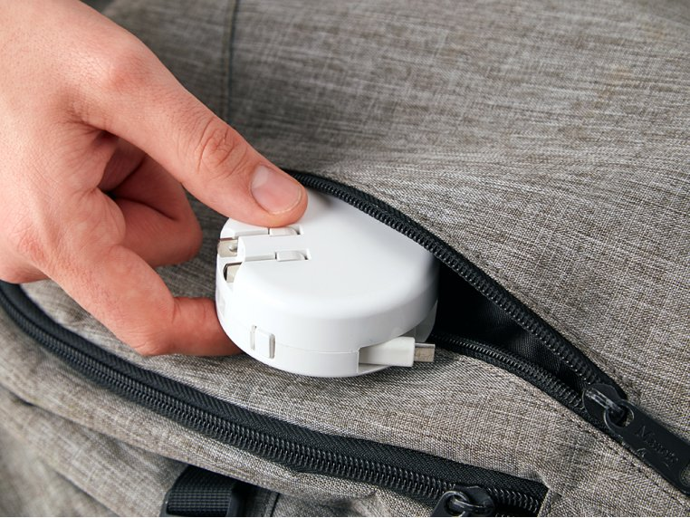 Retractable Phone Charger by Bibicharger - 2