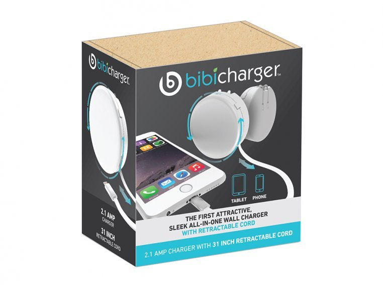 Retractable Phone Charger by Bibicharger - 4