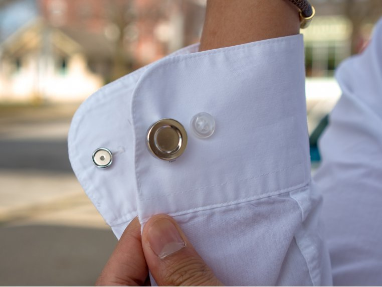 Magnetic Any-Shirt Cufflinks by CLIP OFF® - 1