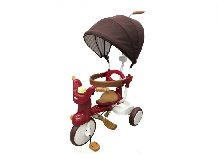 3-in-1 Folding Tricycle with Canopy by iimo USA - 7