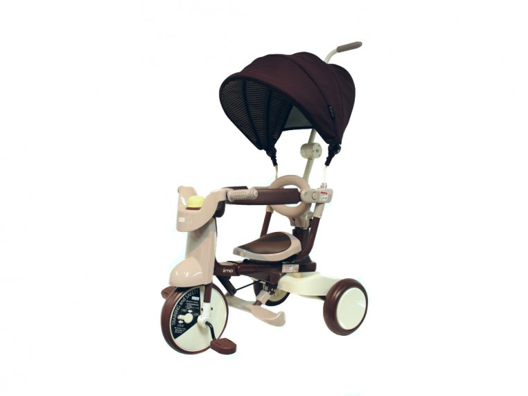 3-in-1 Folding Tricycle with Canopy by iimo USA - 5