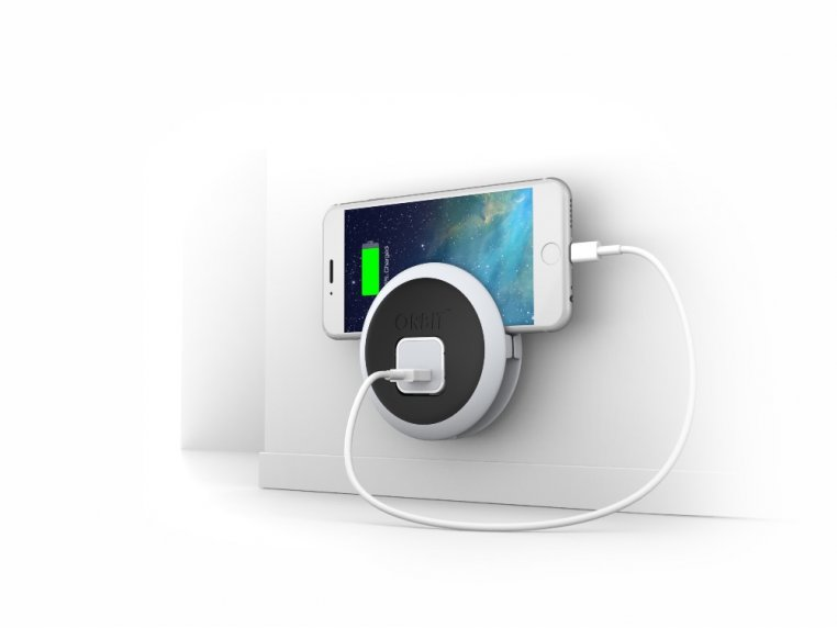 ORBIT™ iPhone Outlet Cord Organizer by HIP Product Factory - 1