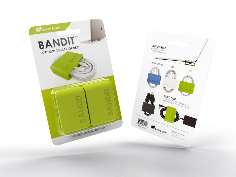 BANDIT™ Laptop Rest Cord Wrap by HIP Product Factory - 4