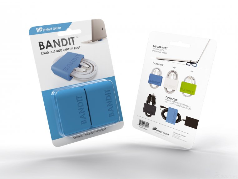 BANDIT™ Laptop Rest Cord Wrap by HIP Product Factory - 5