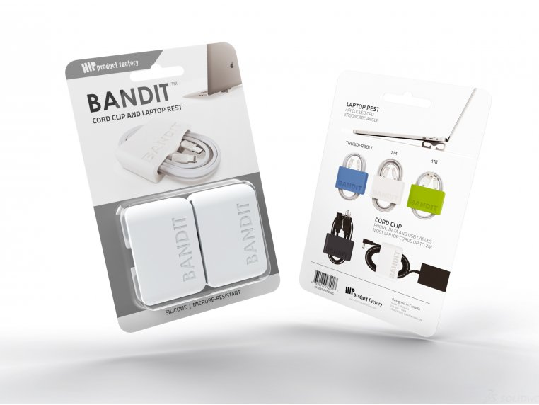 BANDIT™ Laptop Rest Cord Wrap by HIP Product Factory - 6