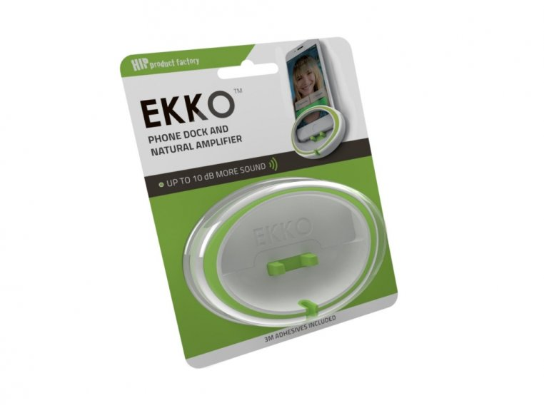 EKKO™ Phone Shelf & Speaker Amplifier by HIP Product Factory - 3