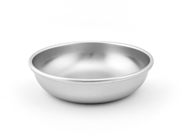 Stainless Steel Cat Food & Water Bowl by Americat Company - 1