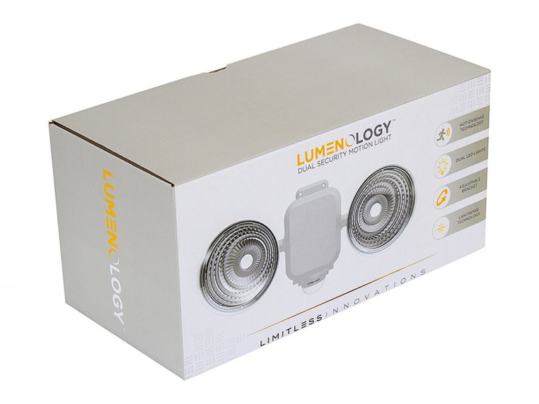 Dual Security LED Motion Light by Lumenology - 12