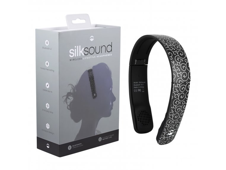 SilkSound Stylish Bluetooth Headphones by Paww - 12
